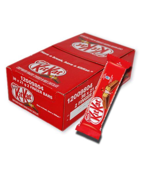 kitkat 2 finger chocolate box