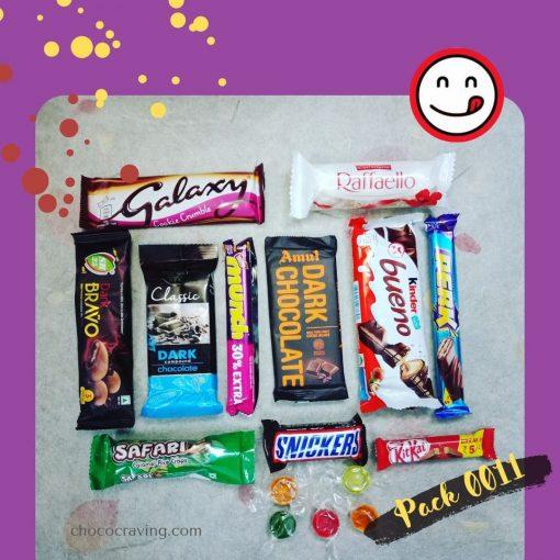 valentine chocolate gift box