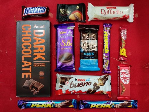 mix chocolate pack 10