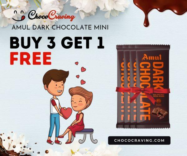 Amul dark chocolate 40g offer